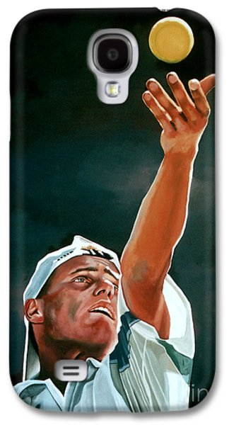 Atp Galaxy S4 Cases - Lleyton Hewitt Galaxy S4 Case by Paul Meijering