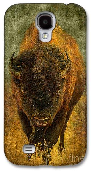 Lone Buffalo Galaxy S4 Case by Cindy Singleton