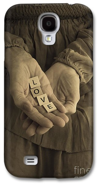 Dress Photographs Galaxy S4 Cases - Love Letters Galaxy S4 Case by Edward Fielding