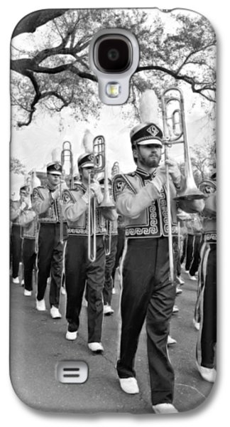 Louisiana State University Photographs Galaxy S4 Cases - LSU Marching Band vignette Galaxy S4 Case by Steve Harrington