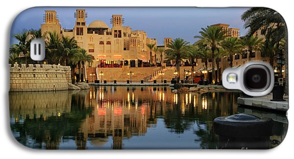 Transportation Pyrography Galaxy S4 Cases - Madinat Jumeirah in Dubai Galaxy S4 Case by Jelena Jovanovic