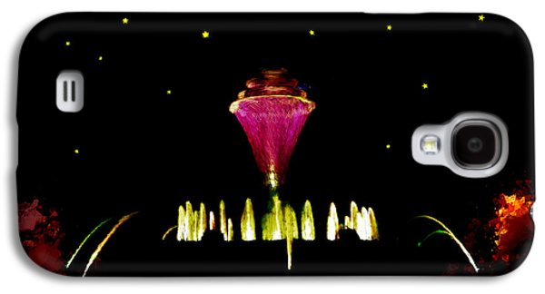 Jet Star Galaxy S4 Cases - Magical Fountain Galaxy S4 Case by Bruce Nutting