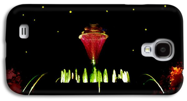 Jet Star Paintings Galaxy S4 Cases - Magical Fountain Galaxy S4 Case by Bruce Nutting