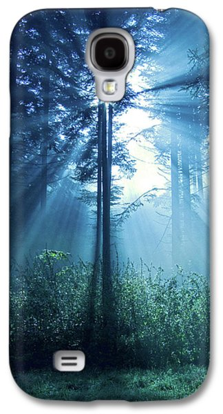 Spirituality Galaxy S4 Cases - Magical Light Galaxy S4 Case by Daniel Csoka