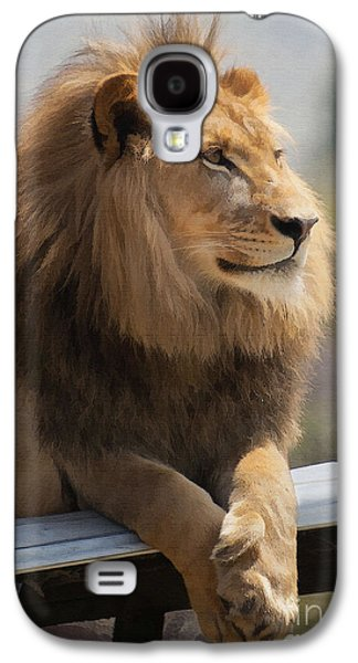 Majestic Lion Galaxy S4 Case by Sharon Foster