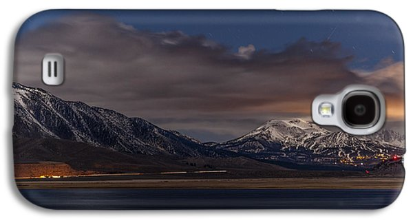Road Travel Galaxy S4 Cases - Mammoth at Night Galaxy S4 Case by Cat Connor
