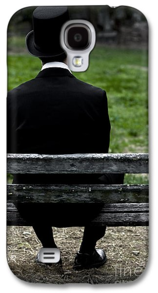 Contemplative Photographs Galaxy S4 Cases - Man From The Past Galaxy S4 Case by Ryan Jorgensen