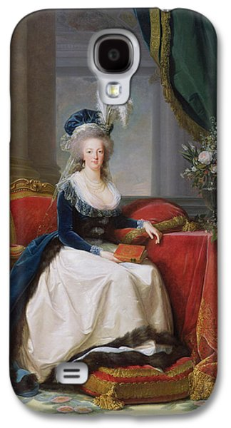 Rulers Galaxy S4 Cases - Marie Antoinette Galaxy S4 Case by Elisabeth Louise Vigee-Lebrun