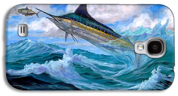 Marlin Galaxy S4 Cases - Marlin Low-Flying Galaxy S4 Case by Terry  Fox