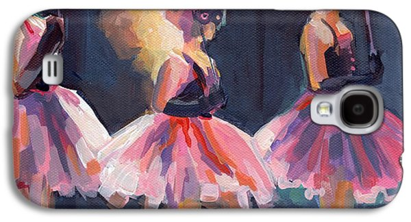 Tutus Paintings Galaxy S4 Cases - Masquerade Galaxy S4 Case by Kimberly Santini