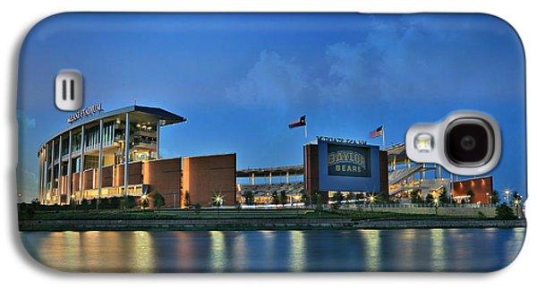 Landmarks Photographs Galaxy S4 Cases - McLane Stadium -- Baylor University Galaxy S4 Case by Stephen Stookey