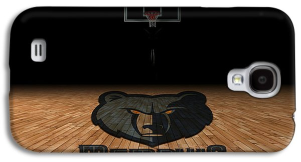 Dunk Galaxy S4 Cases - Memphis Grizzlies Galaxy S4 Case by Joe Hamilton