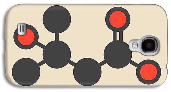 Metabolite Molecule Galaxy S4 Case by Molekuul