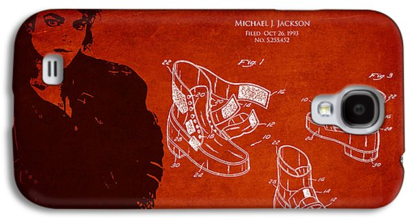 Michael Digital Galaxy S4 Cases - Michael Jackson Patent Galaxy S4 Case by Aged Pixel