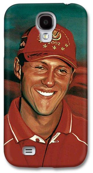 Michael Schumacher Galaxy S4 Case by Paul Meijering