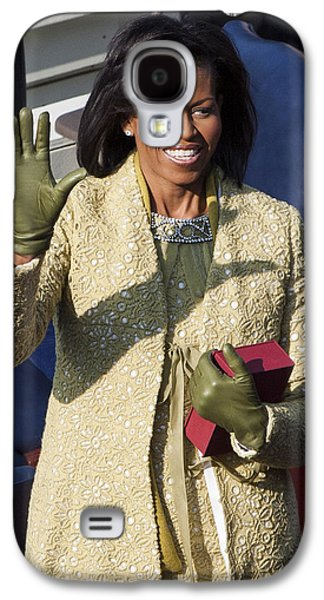 Michelle Obama Photographs Galaxy S4 Cases - Michelle Obama Galaxy S4 Case by JP Tripp