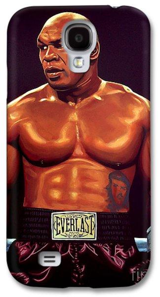 Kids Sports Art Galaxy S4 Cases - Mike Tyson Galaxy S4 Case by Paul Meijering