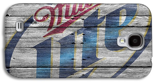 Breweries Galaxy S4 Cases - Miller Galaxy S4 Case by Joe Hamilton