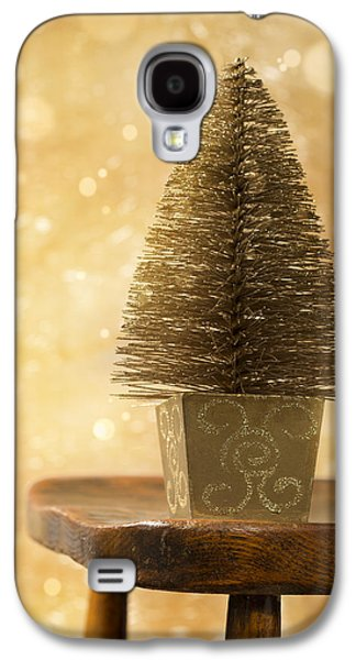 Miniature Photographs Galaxy S4 Cases - Miniature Christmas Tree Galaxy S4 Case by Amanda And Christopher Elwell