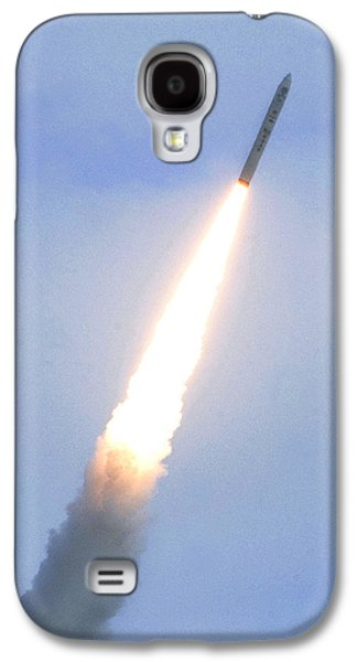 Minotaur Iv Lite Launch Galaxy S4 Case by Science Source