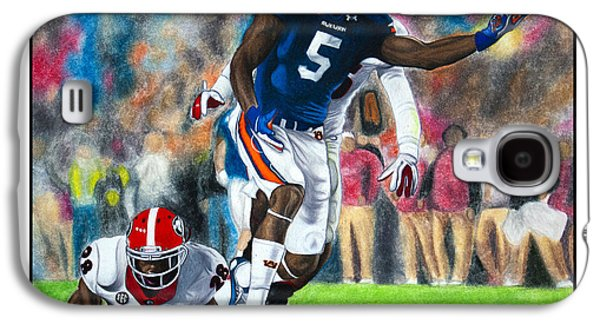 Miracle At Jordan-hare Galaxy S4 Case by Lance Curry