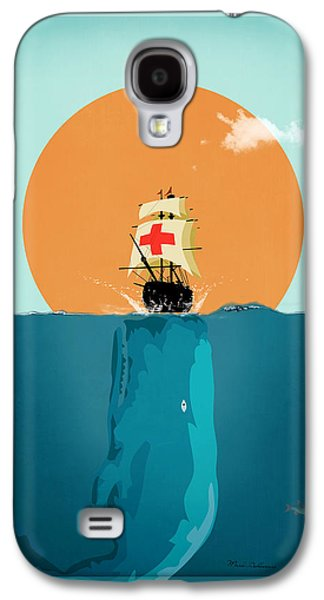 Animation Galaxy S4 Cases - Moby  Galaxy S4 Case by Mark Ashkenazi