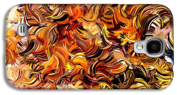 Slash Galaxy S4 Cases - Modern Abstract XXV Galaxy S4 Case by Lourry Legarde