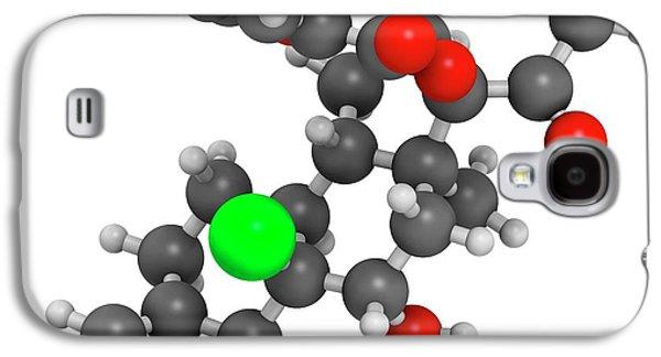 Mometasone Furoate Steroid Drug Molecule Galaxy S4 Case by Molekuul