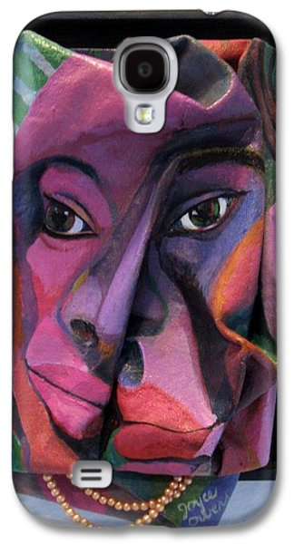 People Sculptures Galaxy S4 Cases - More Than Skin Deep #2  Galaxy S4 Case by Joyce Owens