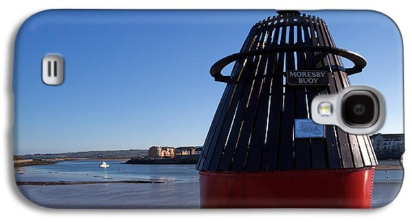 Bouys Galaxy S4 Cases - Moresby Memorial Bouy , County Galaxy S4 Case by Panoramic Images