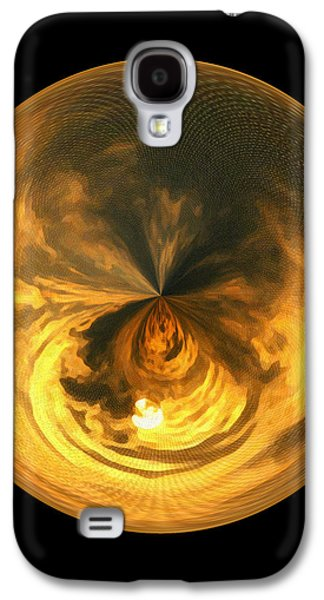 Morphed Galaxy S4 Cases - Morphed Art Globe 7 Galaxy S4 Case by Rhonda Barrett