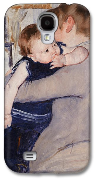 Mother Paintings Galaxy S4 Cases - Mother and Child Galaxy S4 Case by Mary Stevenson Cassatt