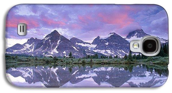 Waterscape Galaxy S4 Cases - Mount Assiniboine, Canada Galaxy S4 Case by David Nunuk