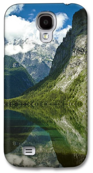 Abstract Landscape Photographs Galaxy S4 Cases - Mountainscape Galaxy S4 Case by Frank Tschakert
