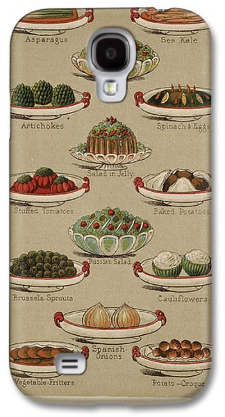 Mrs. Beeton's Family Cookery And Housekee Galaxy S4 Case by British Library