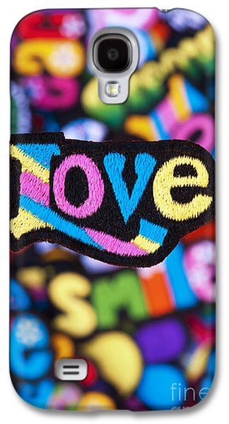 Psychedelic Photographs Galaxy S4 Cases - Multicoloured Love  Galaxy S4 Case by Tim Gainey