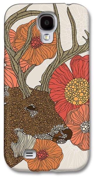 Illustration Photographs Galaxy S4 Cases - My Dear deer Galaxy S4 Case by Valentina Ramos