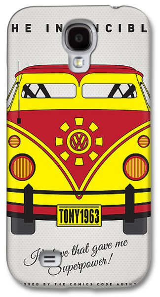 Super Powers Galaxy S4 Cases - MY SUPERHERO-VW-T1-Iron man Galaxy S4 Case by Chungkong Art