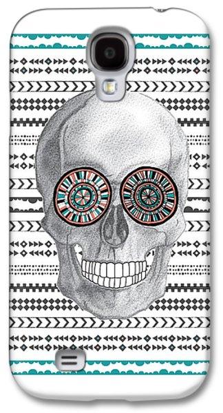 Navajo Skull Galaxy S4 Case by Susan Claire