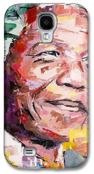 Nelson Mandela Galaxy S4 Case by Richard Day