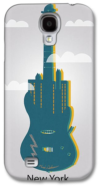 Animation Galaxy S4 Cases - New York  Galaxy S4 Case by Mark Ashkenazi