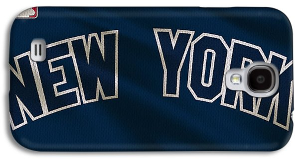 New York Yankees Uniform Galaxy S4 Case by Joe Hamilton