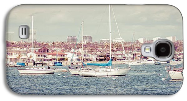 Upscale Galaxy S4 Cases - Newport Beach Panorama Galaxy S4 Case by Paul Velgos
