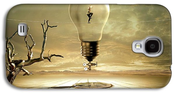 Light Bulb Galaxy S4 Cases - Nighthawks Galaxy S4 Case by Franziskus Pfleghart