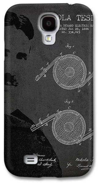 Nikola Tesla Patent From 1886 Galaxy S4 Case by Aged Pixel
