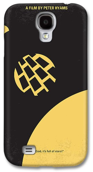 Monolith Galaxy S4 Cases - No003 My 2001 A space odyssey 2000 minimal movie poster Galaxy S4 Case by Chungkong Art