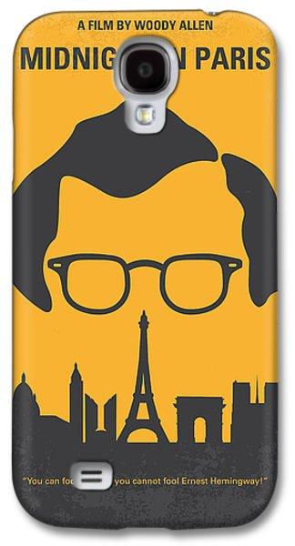 No312 My Manhattan Minimal Movie Poster Galaxy S4 Case by Chungkong Art