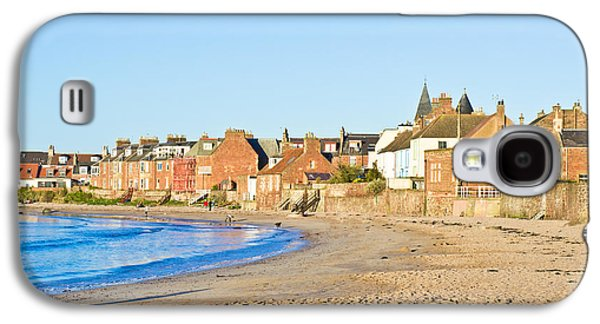 Ocean Panorama Galaxy S4 Cases - North Berwick Galaxy S4 Case by Tom Gowanlock