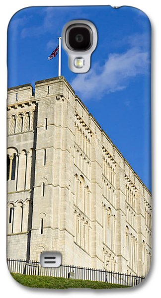 Ancient Galaxy S4 Cases - Norwich Castle Galaxy S4 Case by Tom Gowanlock