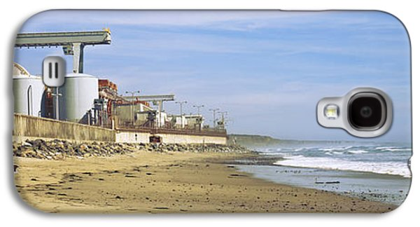 Power Plants Galaxy S4 Cases - Nuclear Power Plant On The Beach, San Galaxy S4 Case by Panoramic Images